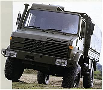 Amazon.com: 1994 Mercedes Benz Unimog U1350L 4x4 2.5-3 Ton ...