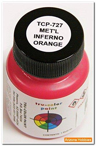 tru-colorペイントtcp727メタリックInfernoオレンジの商品画像