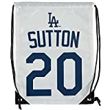 Los Angeles Dodgers Sutton D. #20 Hall of Fame Drawstring Backpack