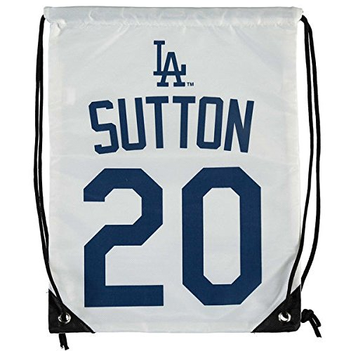 Los Angeles Dodgers Sutton D. #20 Hall of Fame Drawstring Backpack by FOCO
