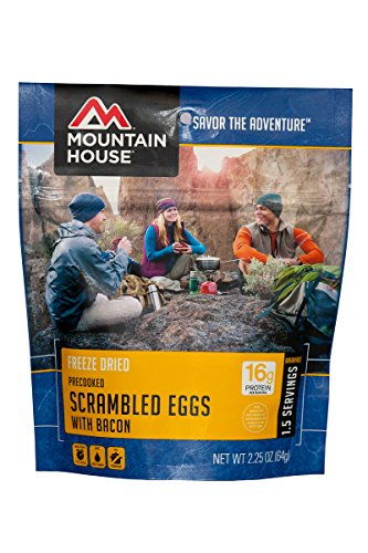 Mountain House Scrambled Eggs with Bacon, Pouch