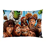 Miniwin The Croods Pillow Case Two Side Cover Rectangle Pillowcases Code A