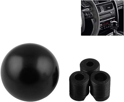 Possbay Car Gear Knob Universal Shift Knob Manual Shifter Gear Round Shape Colorful Aluminum