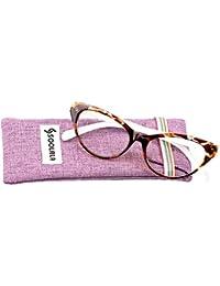 Modern Cat Eye Clear Lens Eye Glasses Frame Reading...