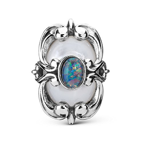 Carolyn Pollack Opal Mother of Pearl Magnetic - Mother Pearl Of Opal
