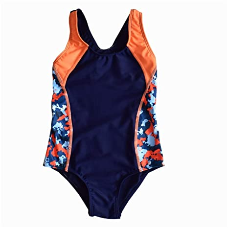 Traje de baño de una pieza para niñas Chicas Playa Deporte ...