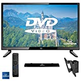 "32"" LED HDTV 720p w/ Built-in DVD Player Bundled with Full Function Remote, Amplified HDTV Antenna and VESA Wall Mount by Continu.us 