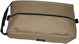 product image for BAGS USA Shoe Bag,Golf Shoe Bag Durable Stain Resistant,fits up to Size 13 Made in U.s.a. (Tan)