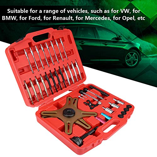 Self-Adjusting Clutch Tool Kit, 38pcs Universal Clutch Alignment Setting Tool for Most Vehicles Such as BMW Ford Renault Mercedes Opel by Estink (Image #1)