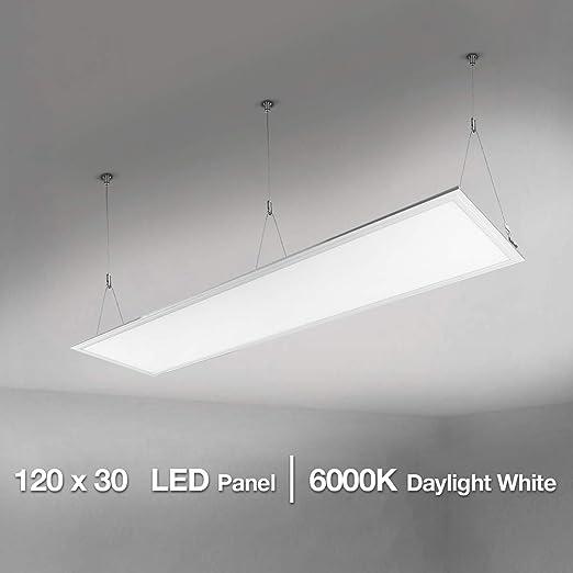 Pannello LED lampade ufficio griglia lavoro Illuminazione Garage Officina luci a sospensione