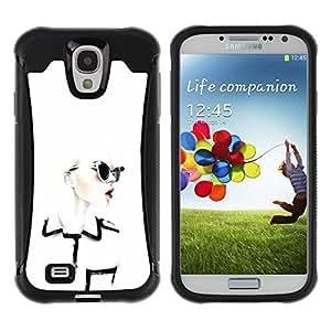 LASTONE PHONE CASE / Suave Silicona Caso Carcasa de Caucho Funda para Samsung Galaxy S4 I9500 / Design Clothing Chique Glamorous