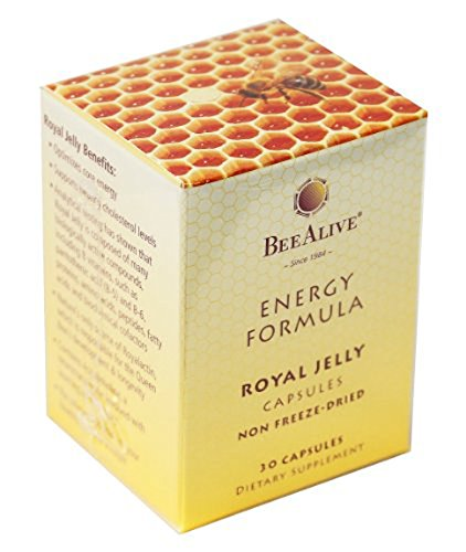 BEEALIVE Royal Jelly Energy Formula Non Freeze-Dried 150mg 30 Capsules Review
