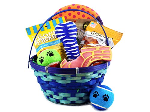 Dog Toy and Treat Easter Basket