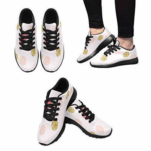 Go InterestPrint Running Women's Multi Easy Walking Jogging Sneaker 7 Lightweight Shoes Xrw4xdrq7n