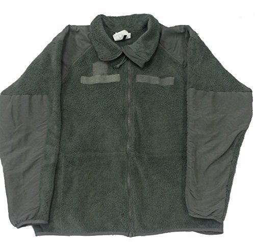 Military Outdoor Clothing Previously Issued Foliage Polartec Fleece Jacket ()