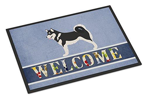"Caroline's Treasures Alaskan Malamute Welcome Doormat, 24"" x 36"", Multicolor"