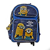 Despicable Me 2 All Hands On Deck! Roller Backpack Bag