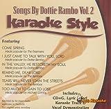 Daywind Karaoke Style: Songs By Dottie Rambo, Vol. 2