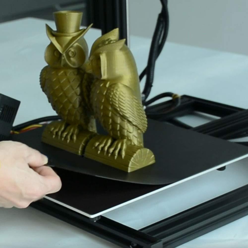 TRONXY - Adhesivo magnético para impresora 3D de cama caliente ...
