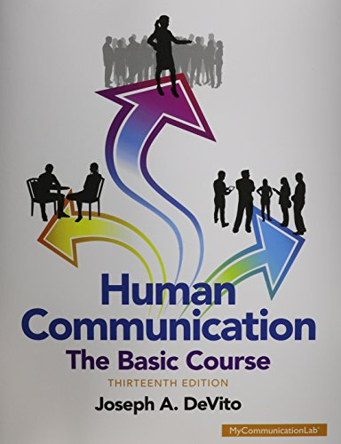 Pdf Download Free Human Communication The Basic Course 13th Edition Full Book Asb7bax