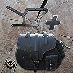 Big-Boy-Black-Side-Case-Holder-for-HD-Softail-up-to-2017-Saddle-Bag-Harley-Davidson-Left-Side-Pocket-Motorcycle-Bag-Biker-Bag-HD-Black-Side-Case-35L
