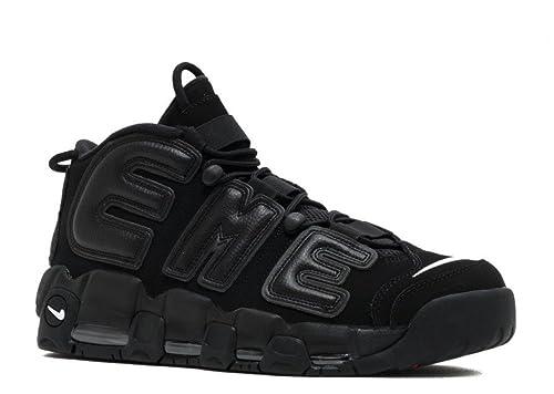 7cbf08623c NIKE Air More Uptempo Supreme - Black/Black-White Trainer: Amazon.co.uk:  Shoes & Bags