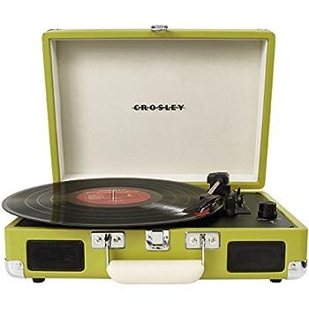 Amazon.com: Tocadiscos Crosley CR8005D-BK Cruiser Deluxe de ...
