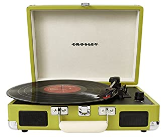 Crosley Radio Cruiser Portable Turntable, Green (B00990Z13S) | Amazon price tracker / tracking, Amazon price history charts, Amazon price watches, Amazon price drop alerts