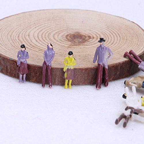 Dabixx bâtiment Figure Ho Passager Disposition Modèle Échelle 1 People Popular 100X 75 Peinte du de 4Cwra4q0x