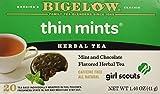 Bigelow Girl Scout Cookies Thin Mints Herbal Tea (Pack of 2)