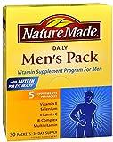 Nature Made Daily Men's Pack Vitamin Supplement Program
