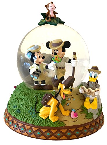 Disney Parks Shanghai Mickey & Friends Adventure Isle Snow Globe