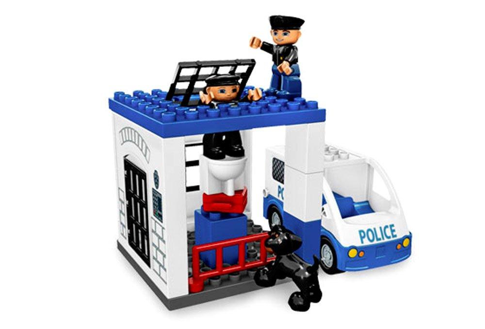 Buy Lego Ville Year 2008 Duplo Series Vehicle Set # 5602 Police ...