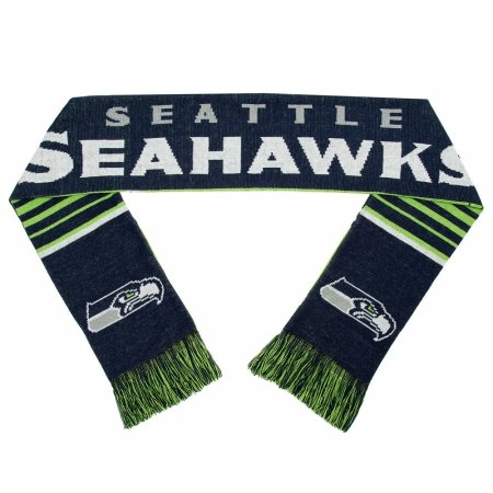 Forever Collectibles 9016312362 Seattle Seahawks Scarf - Reversible Stripe - 2016