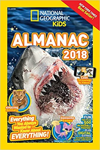 National Geographic Kids Almanac 2018 (Infopedia ): Amazon