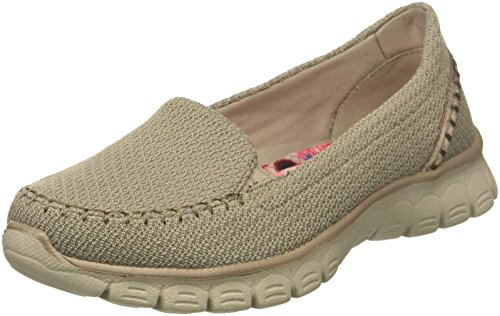 Beige 3 0 Flex Ez Toe Skechers Damen Closed Ballerinas Taupe 8xn1qH6