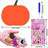 Aneco Halloween DIY Foam Pumpkin Craft Kit, 18