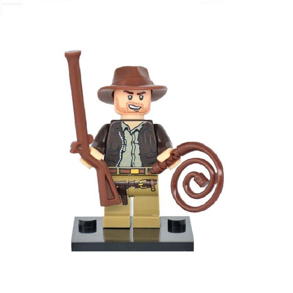 70%OFF Indiana Jones Minifigura Lego personalizada compatible con ...