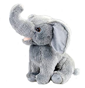 Cute Plush Elephant Stuffed Animal 10 inches By Bo Toys