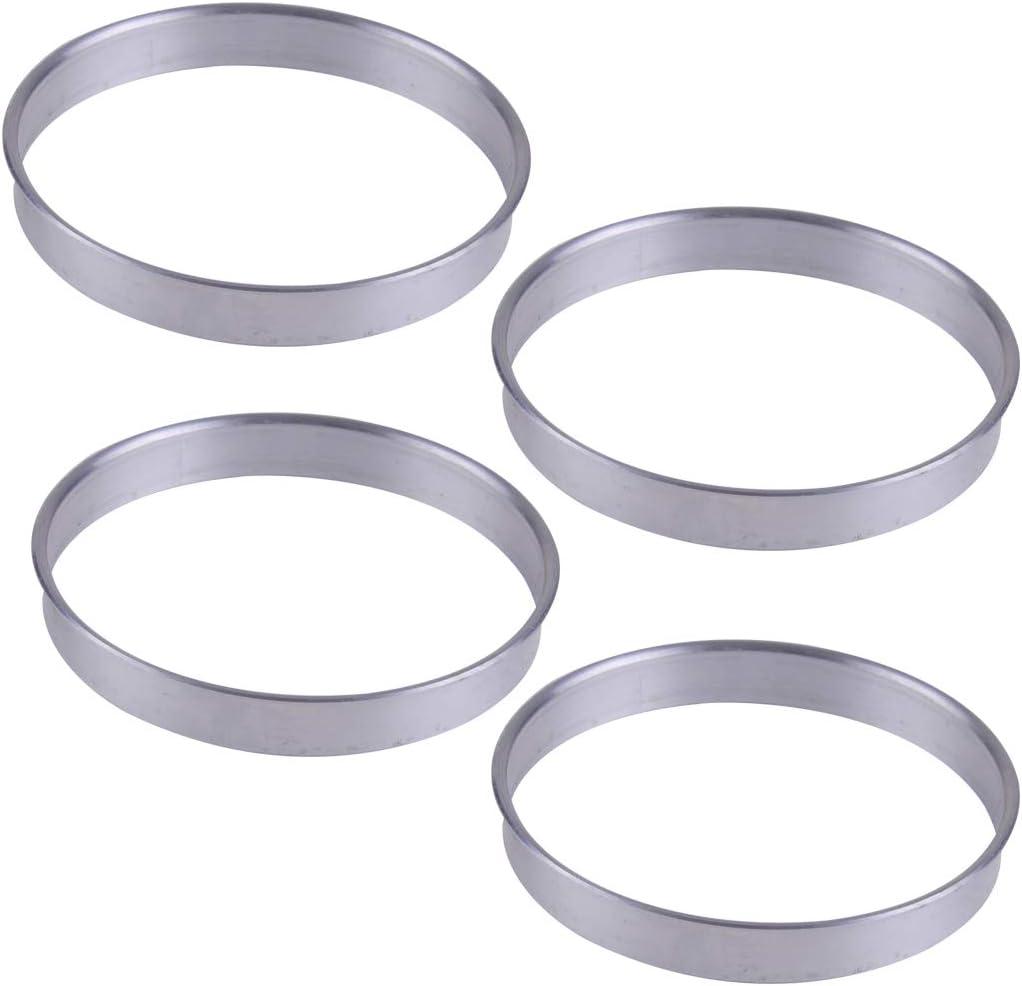 Aluminium Alloy-4 Pcs Wheel Hub Centric Rings OD= 71.5mm ID= 69.6mm