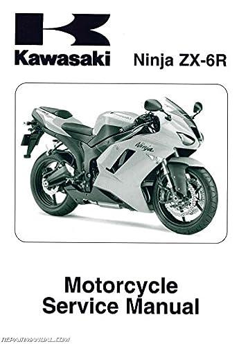 99924 1382 02 2007 2008 kawasaki ninja zx 6r zx600p motorcycle rh amazon com 2008 zx6r service manual pdf 2008 kawasaki zx6r service manual
