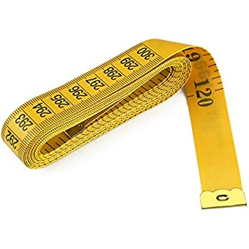 """120-Inch Tape Measure (2Pack 120"""", Yellow)"""