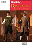 Simplicity Sewing Pattern 4059 Men Costumes, A (XS-S-M-L-XL)
