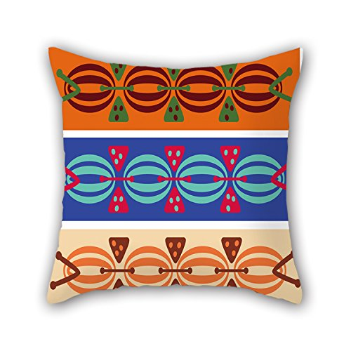 PILLO The Color Block Throw Cushion Covers Of ,20 X 20 Inches / 50 By 50 Cm Decoration,gift For Car,couples,study Room,indoor,kids Girls,home (2 Sides)