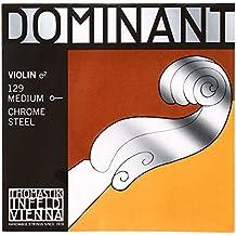 Thomastik-Infeld 129 Dominant Violin Chrome Steel, Medium Gauge, 4/4 Scale
