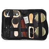 FineInno Travel Shoe Care Kit, Portable Shoes Polish Set Gift Kit (Option 1)