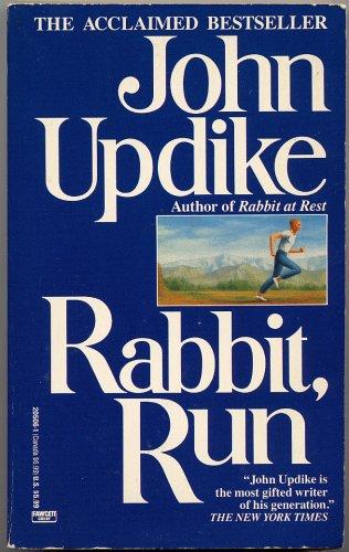 RABBIT, RUN by John Updike (A Fawcett Crest Book)