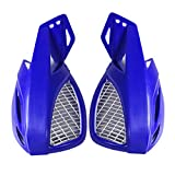 "1 Pair 7/8"" Hand Guards Handguards fit for Motorcycle Off Road Dirt Bike Scooter ATV Motocross Blue"