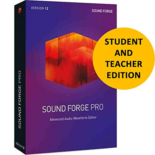 Magix Sound Forge Pro 12 for Students & Teachers by Genesis MGX