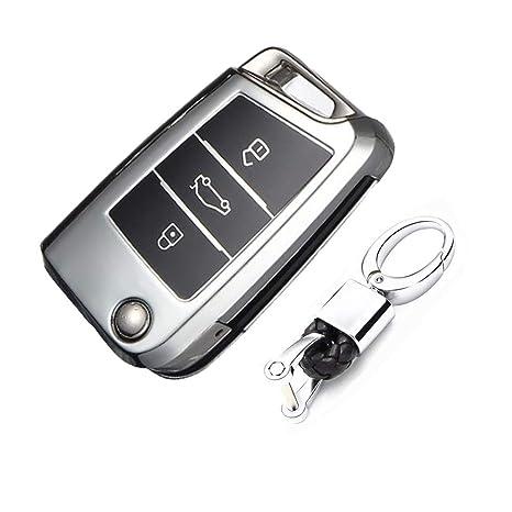 Amazon.com: Keyless Entry Remote Cases Smart Key Fob Cover ...